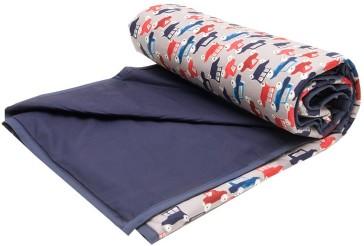 Traffic Jam Baby Bassinet Comforter by Lullaby Linen