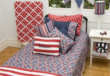 Traffic Jam King Single Quilt Cover by Lullaby Linen