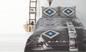 Tribe Queen Quilt Cover Set by Retro Home