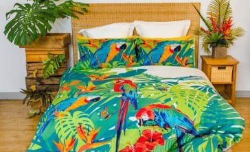 Tropica Quilt Cover Set by Retro Home