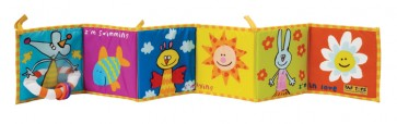 I'm Happy - Baby's Soft Book by TAF Toys