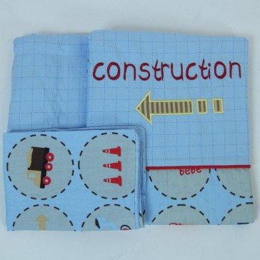 Under Construction Cot Sheet Set by Amani bebe