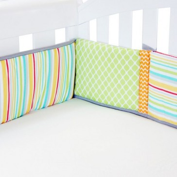 Up In The Sky Cot Bumper by Babyhood