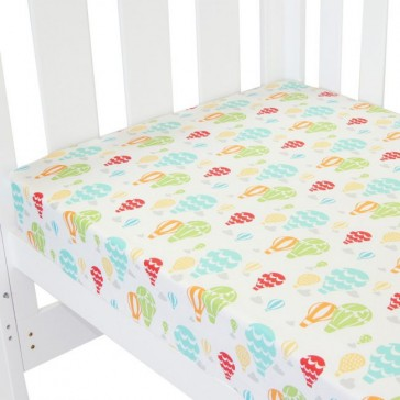 Up In The Sky Fitted Sheet by Amani Bebe