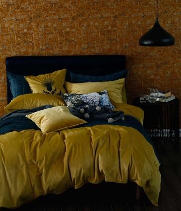 Raffia Velvet Quilt Cover Set by MM linen