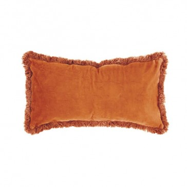 Velvet Cushion Cayenne by Bambury