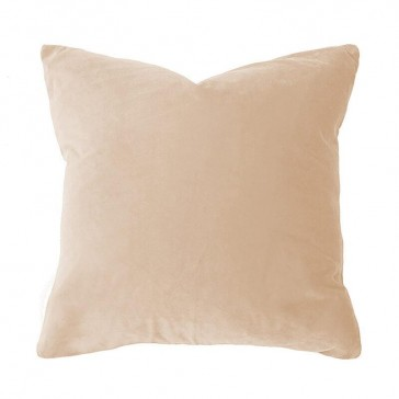 Velvet Cushion Nude by Bambury