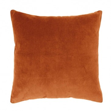 Velvet Cushion Cayenne by Bambury
