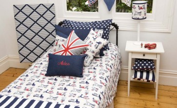 Vespa Double Quilt Cover Set by Lullaby Linen