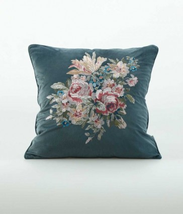 Vintage Square Cushion by MM Linen