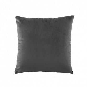Vivid Velvet Coal Cushion by Bianca