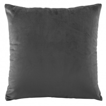 Vivid Coordinates Velvet Coal European Pillowcase