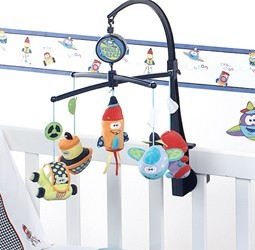 Wheely Mates Cot Mobile by Babyhood