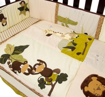 Wild Things Baby Bedding by Amani Bebe