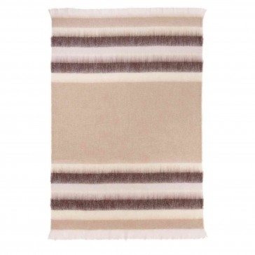 Mohair Woodend Throw Rug by St Albans