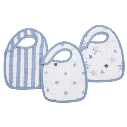 Rock Star Classic Snap Bibs By Aden And Anais