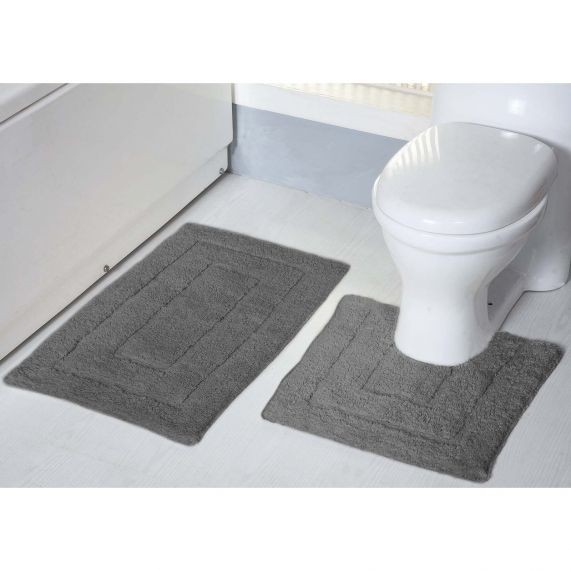2200 GSM 2 Piece Bath Mat Sets by Renee Taylor