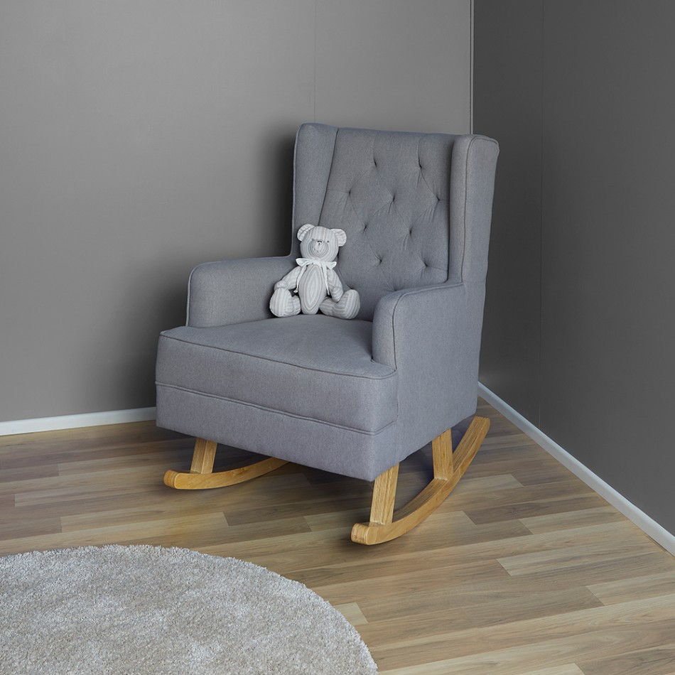 Regent chair rocker by bebe care for Rocking chair blanc chambre bebe