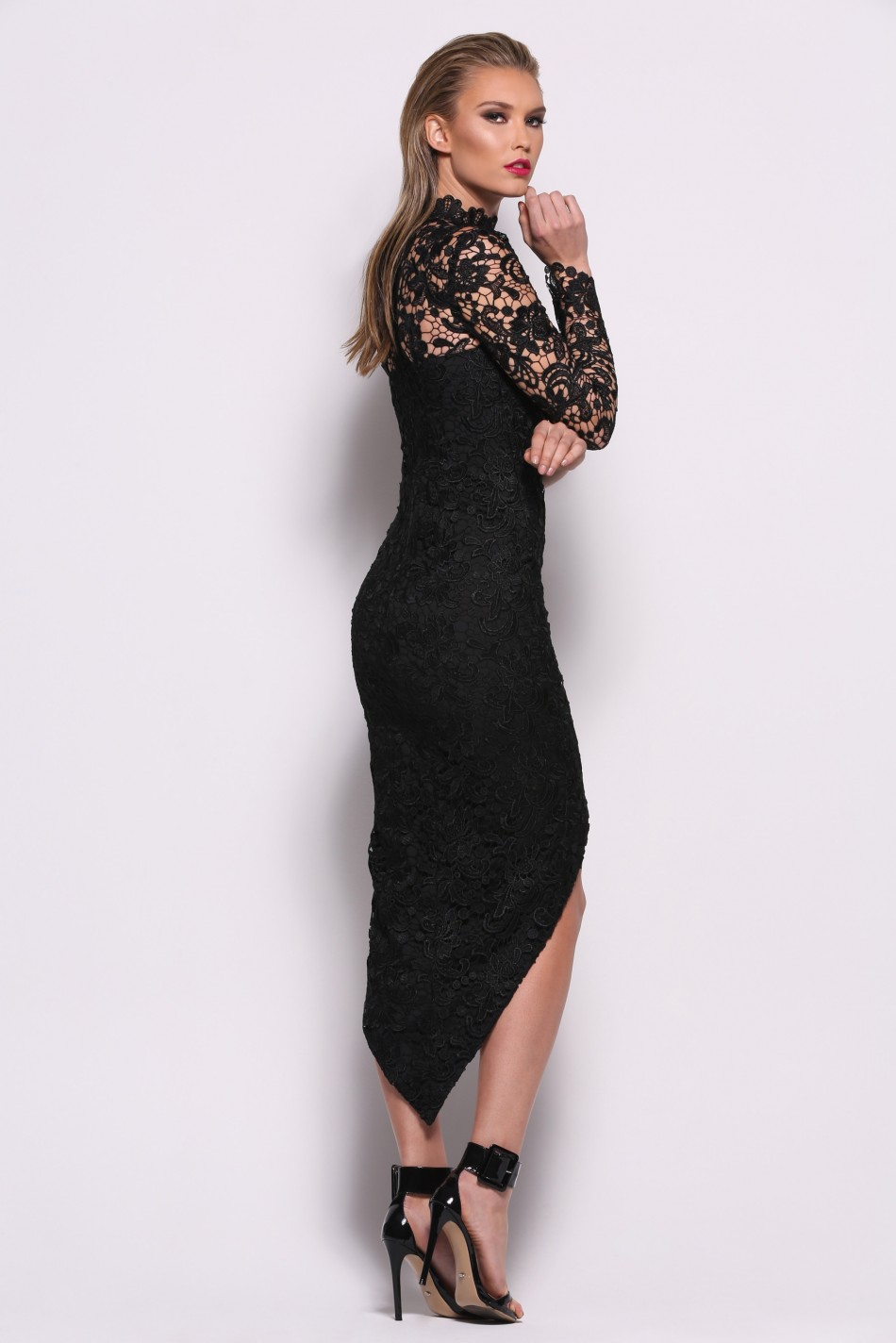 Saba Black Dress By Elle Zeitoune