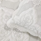 Madison White Bedspread Set by Bianca