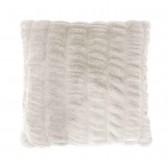 Ripple Faux Fur Cushion by Bambury