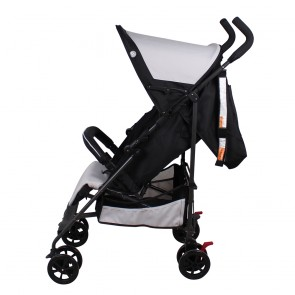 Heston Black Stroller by Childcare