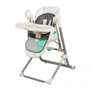 Argent Aztec Teal 2 IN 1 Swing HighChair by Childcare