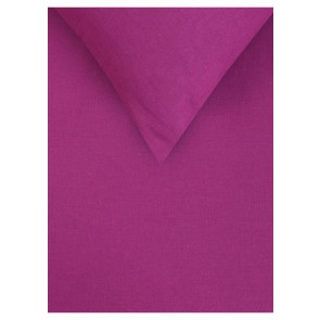 Magenta Linen Cotton Fitted Sheet Set by Accessorize