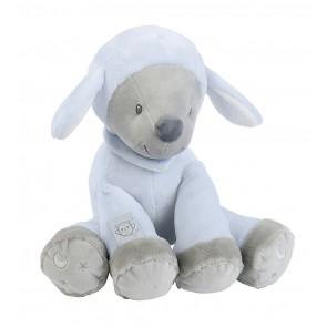 Sam & Toby Collection - Cuddly Sam The Sheep by Nattou