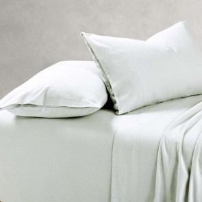 100% Cotton Flannelette 1 Fitted Mega King Sheet and Pillowcase(s) Pack