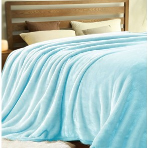Micro Flannel Plush Blanket by Kingtex