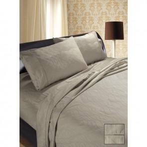 1200tc Linen Luxury Hotel 100% Egyptian Cotton Jacquard Sateen Sheet Set by Shangri-La