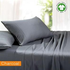 1500TC Organic Cotton Rich Sustainable King Single Sheet Set