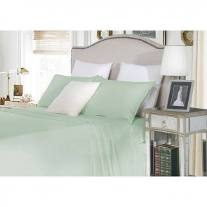 1500TC Cotton Super King Fitted Sheet Set