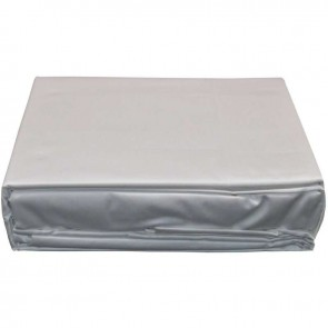 1500TC Pure Cotton Single White Bed Sheet Set