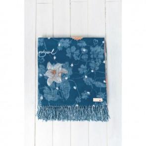 Dark Floral Blanket - Desigual Living by Bambury