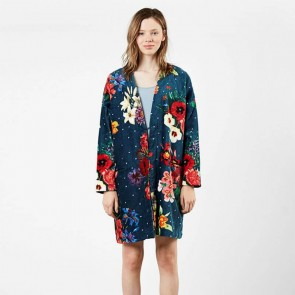 Dark Floral Robe - Desigual Living by Bambury