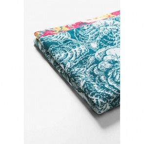White Floral Towel - Desigual Living by Bambury