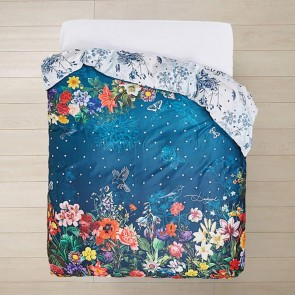 Dark Floral Quilt Cover- Desigual Living by Bambury