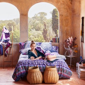 Boho Jeans Quilt Cover - Desigual Living by Bambury