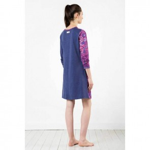 Jeans Long Sleeve Night Dress by Bambury