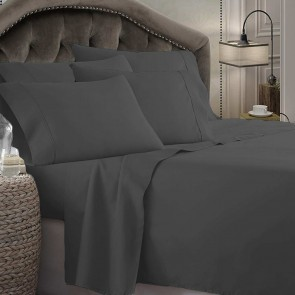 1800 Series Microfiber Super King Sheet Set by Kingtex