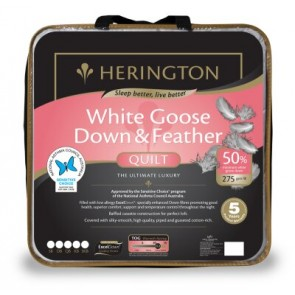 50% Goose Down & Feather Double Luxury Quilt