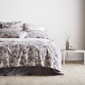 Dunleigh Quilt Cover Set Dusty Pink by Sheridan