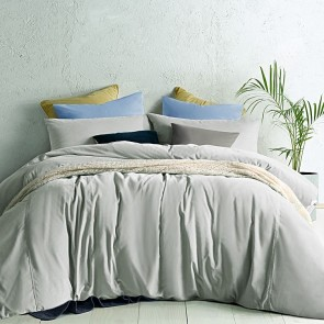 Bone Cotton Velvet Quilt Cover Set