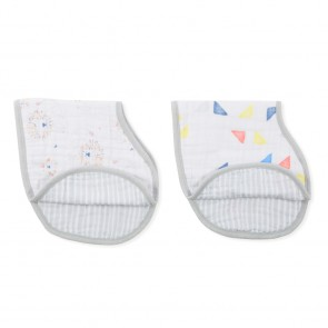 Leader of the Pack 2-pack Classic Burpy Bibs by Aden and Anais