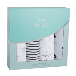 Lovestruck 4-pack Classic Swaddle by Aden and Anais