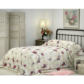 Madeline King Single Bedspread by Bianca