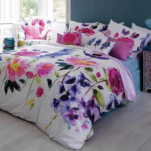 Taransay KS/DB Quilt Cover Set by Bluebellgray