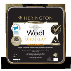 Wool Washable Single Underlay by Herington